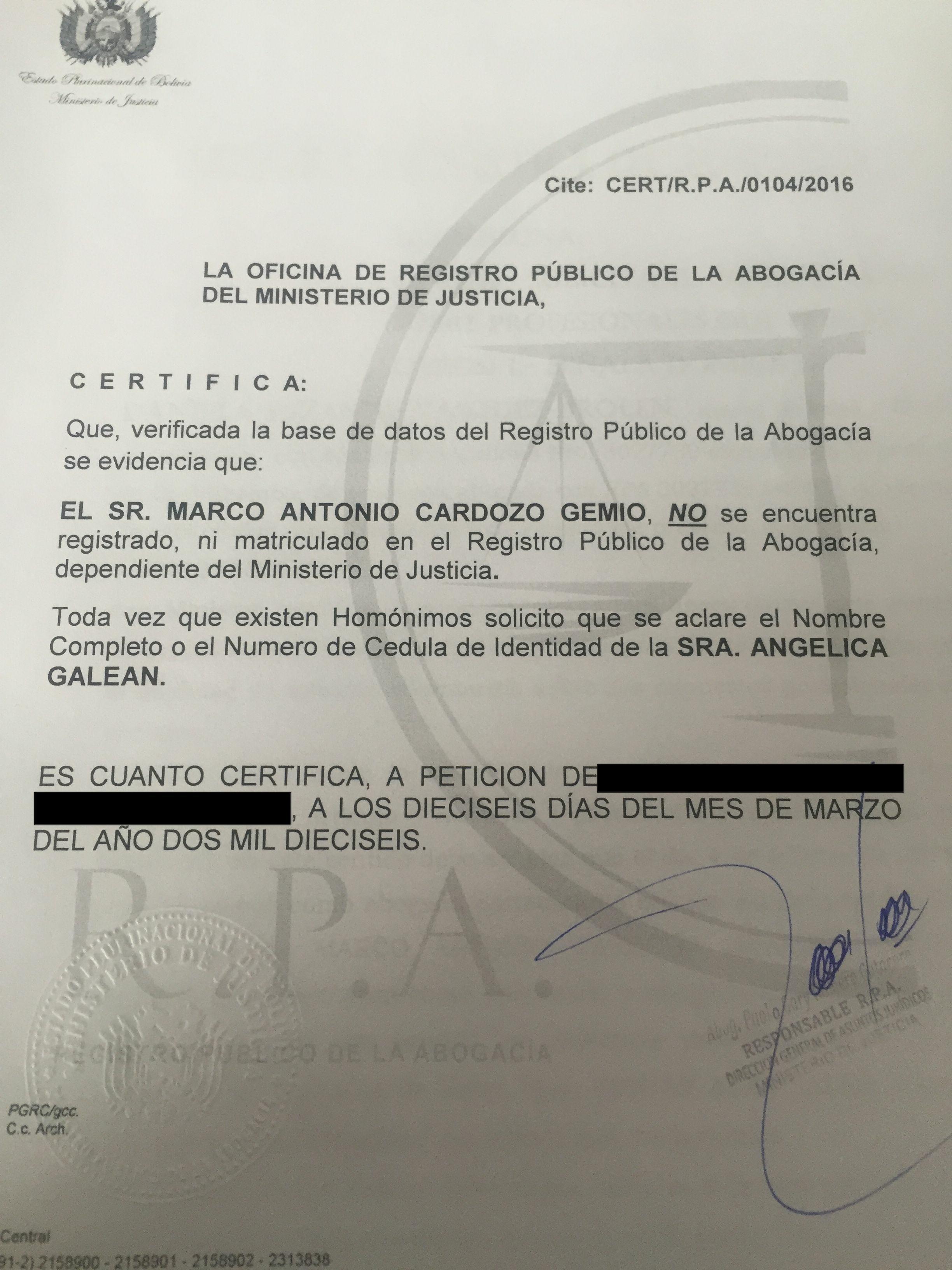 Radio Nizkor: Derechos Humanos en Bolivia.