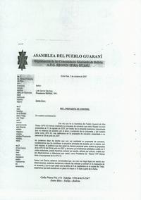 Carta notarial APG
