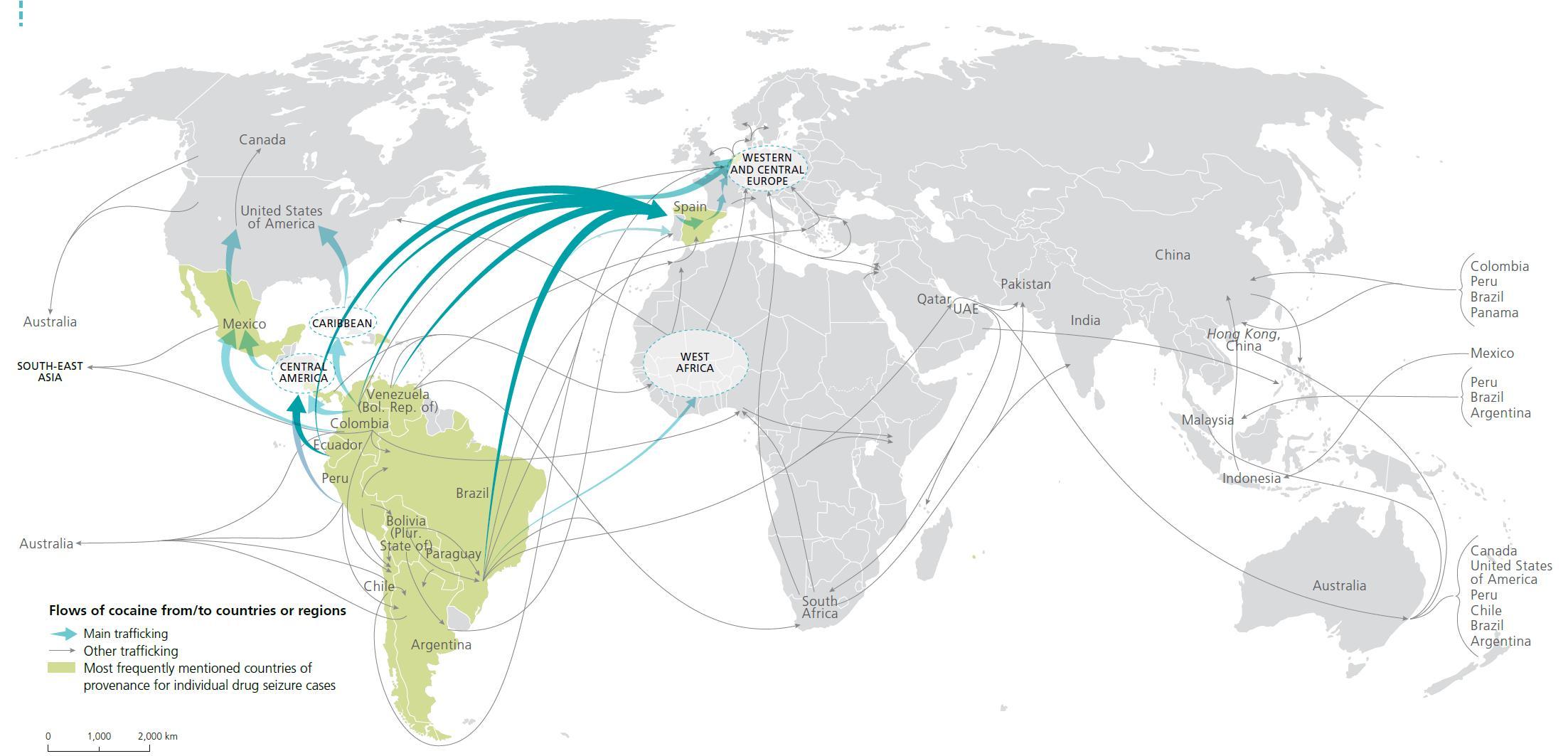 global drug trafficking