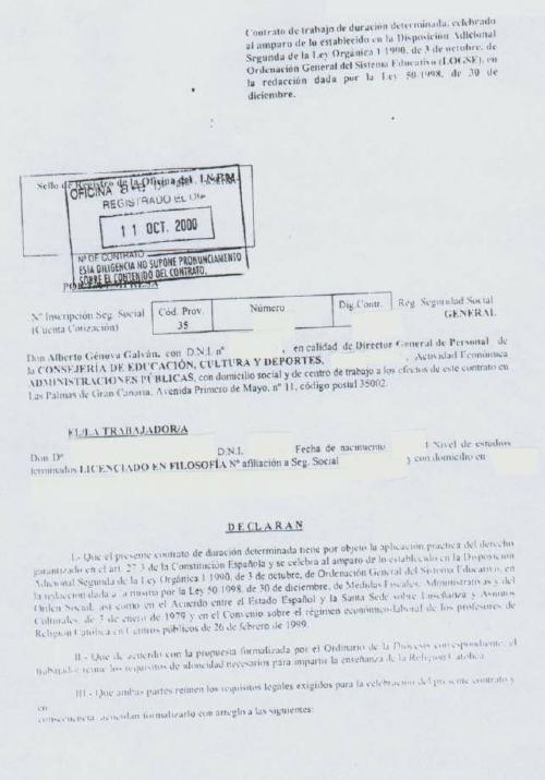 Modelo de contrato de trabajo para el servicio domestico for Contrato trabajo