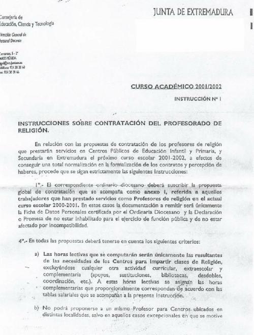 Equipo Nizkor Extremadura Modelo De Contrato De Trabajo