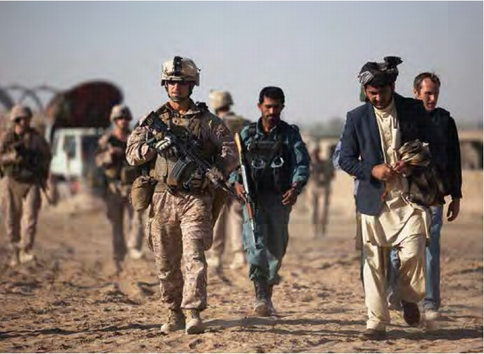 Acknowledging This De Facto Role, The United States Supported The Increased  Militarization Of The ANP, Arming Local Police With AK 47s, Light Machine  Guns, ...